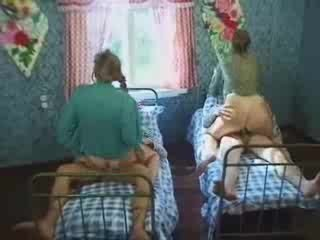two dudes pierced by village wifes