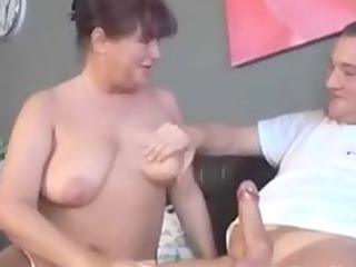 german elderly with tatoo sucks and fucks mature