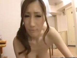 eastern older woman gives handjob