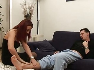 american cougar redhaired bottom