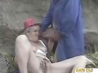 elderly older  pair enjoy it public