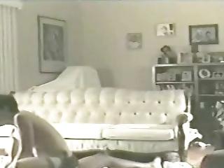 housewife elaine on the living house floor