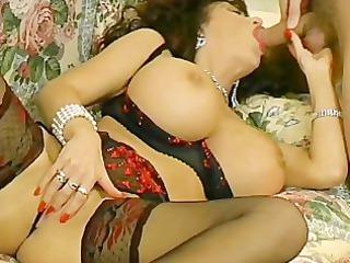 hugetit lady pierced inside her lingerie