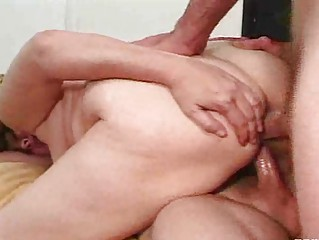 heavyset older  slut demonstrates she can handle