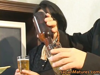 japanese mature chick has super fuck