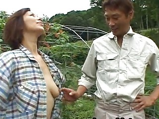 chisato shouda eastern  grownup lady takes