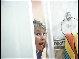 lady spying on son aspiration he was into bath