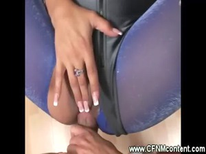 cfnm ladies lick and gang bang his uneasy penis