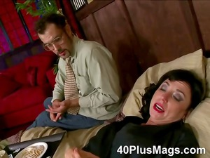 divorced grown-up whore inside for triple