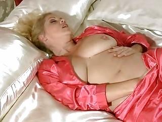 desperate woman into underwear rubbing for orgasm