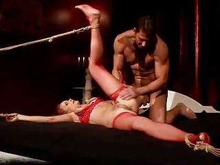 cougar girl acquiring bondaged