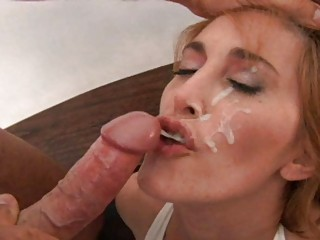busty ginger lady drilled inside hot ebony panties