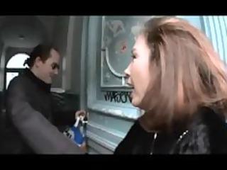 hot german woman claudia gets gangbanged