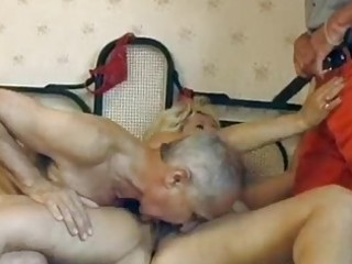 cougar german bleached acquires twofold fucked