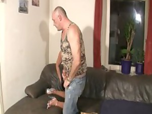 german whore pierced by elderly heavy male