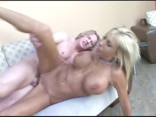 blond woman begs for a creampie