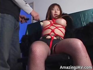japanese momoko looking awesome into stockings