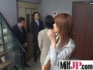 beautiful japanese mature babes own tough nailed
