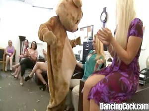 dancingcock black bear sperm party.p5