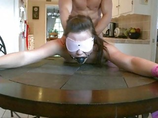 lady bitch obtains humiliated and gangbanged