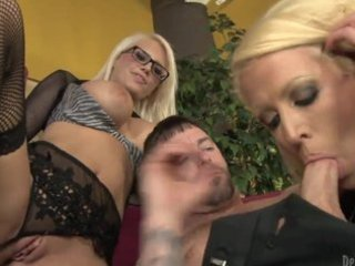 horny lady and her naughty daughter pleasuring
