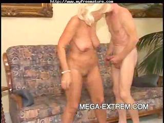 elderly hottie copulates sweet pt2 older  mature