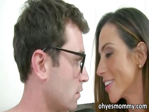 horny stepmom copulates her stepgirls bf