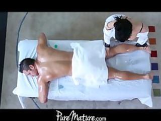 puremature lady massage butt porn