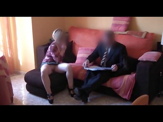 spy milf fucks commercial agent