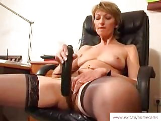 cougar stella into her  masturbation movie