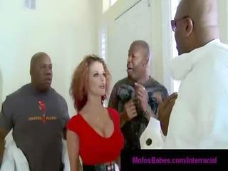 23busty mature babes gangbanged by ebony penises
