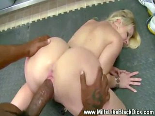 blond milf fucked by monster dick