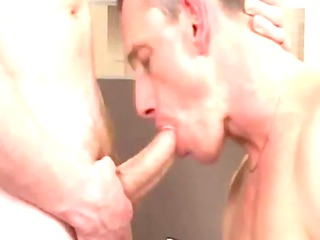 hot cougar boy takes sucked and rimmed by twink