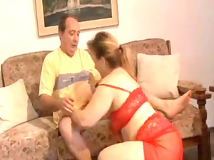 obese aged banging by her wife