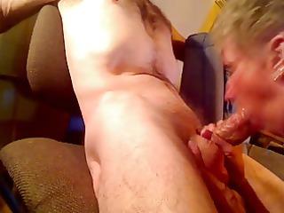 granny licks penis a amateur man