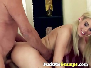 granny cock into amateur cave