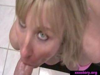 slut woman bangs stepson